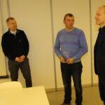 Rainer Ottis (OÜ Knoobus) ja Mati Kitt (AS Toode) said hakkama parima metallist katusega